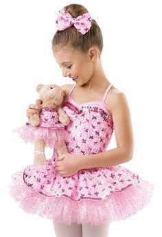 Teddy Bear Satin Sequin Dress; Weissman Costumes