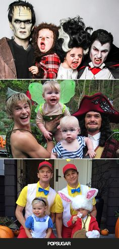 Adorable family pictures AND Halloween costume inspiration.