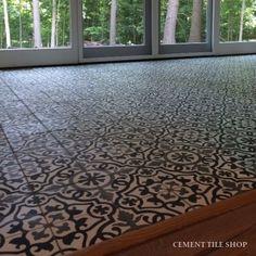 Cement Tile Shop - Handmade Cement Tile | Amalia Black