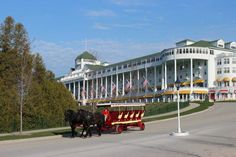 Sadie's Ice Cream Parlor at the east end of Mackinac Island's venerable Grand Hotel, and 7 other ways to make Mackinac Island memories