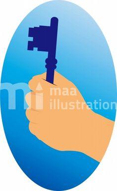 Free Key Illustration