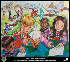 2015-16 Merit Award Winner  Cassie Wang 12 years old New Jersey, USA  Sponsored by Edison Metro Lions Club