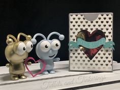 "Show that special someone just how sweet you think they are with this little treat box that features a heart shaped window and banner that says ""You're Sweet"". This is a project that goes together very quickly so it would be great for party favors, Valentines, or any occasion that calls for a nice display of treats.   #cricutmade #box #cardstock #cricutdesignspace #cricutexplore #treatbox #valentine's #video"