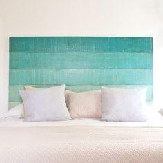 DIY Headboards - 40 DIY Headboard Designs for a Fabulous Looking Bed Beach House Decor, Diy Home Decor, Diy Deco Rangement, Home Bedroom, Bedroom Decor, Bedrooms, Budget Bedroom, Bedroom Storage, Headboard Designs