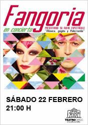 Fangoria en concierto en el Teatro Circo de Orihuela http://www.agendalacant.es/index.php/fangoria-en-concierto-en-el-teatro-circo-de-orihuela