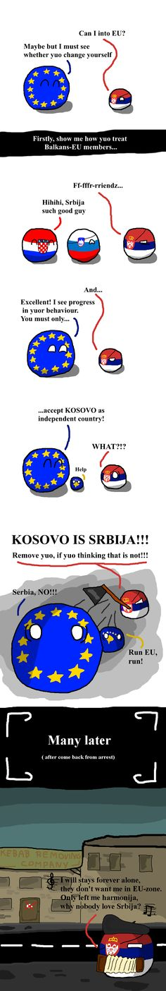 Its really hard to change yourself | Polandballs Countryballs