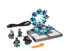 With LEGO Dimensions, you are gonna need a bigger imagination! Combine building and crazy mash-up gaming with this LEGO® DIMENSIONS™ Starter Pack, including game disc, LEGO Toy Pad with Gateway bricks, 3 minifigures and a 3-in-1 Batmobile. $99.99