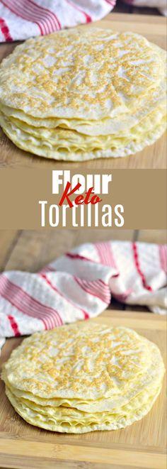 Keto Flour Tortillas | Bobbi's Kozy Kitchen