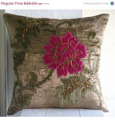 ON SALE Decorative Throw Pillow Covers 20 x 20 by TheHomeCentric, $32.40