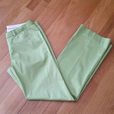 """""""The Limited"""" Stretch Slacks/Pants Lightweight pair of pants from The Limited.  Apple green color.  57% Cotton, 40% Nylon, 3% Spandex.  Great for Spring/Summer. The Limited Pants"""