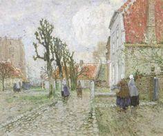 Henri Cassiers - Vue de Sint-Anna-ter-Muiden