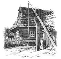 Studňa v Podbieli - SLOVAKIA