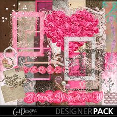 Digital Scrapbooking Kits | Deco Rosa-(CatDes) | Decorative, Everyday, Family, Friends, Girls, Holidays - Mother's Day, Holidays - Valentine's Day, Love, Vintage, Weddings | MyMemories