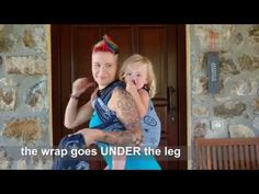 Tutorial: Christina's Ruckless Back Carry - Wrap you in love