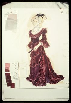 Photographs of costume designs by Florence Klotz for the original Broadway production of A Little Night Music - NYPL Digital Collections A Little Night Music, New York Public Library, Still Image, Designer Collection, Costume Design, Designs To Draw, Florence, New York City, Broadway