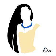 Pocahontas+Silhouette+by+Lytea.deviantart.com+on+@deviantART