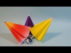 우산 ※접고 필수 있어요!※ Umbrella ※That Open and Close※ {팡야} 종이접기 Origami - YouTube