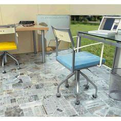 NEWSPAPER floor