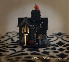 true2scale: putz village | Dollhouse Miniatures | Printables, Tutorials, Inspiration
