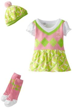 Baby Aspen Baby-girls Newborn Big Dreamzzz Princess 3 Piece Set Multi 0-6 Months