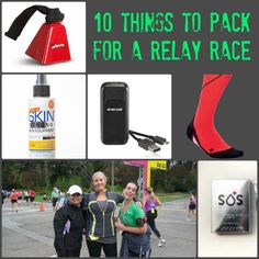 Doing a relay race like Ragnar? What you need to pack! #run #running #race