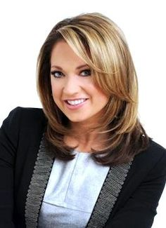 Ginger Zee...I like how structured yet versatile her haircut is...