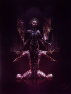 (aka: Mater Sanguinis/Mother of Blood). Death Art, Macabre Art, Death Metal, Dark Fashion, Horror Art, Painting & Drawing, Concept Art, Blood, Twitter