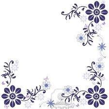 Resultado de imagen para imagenes de bordes para tarjetas en blanco y negro