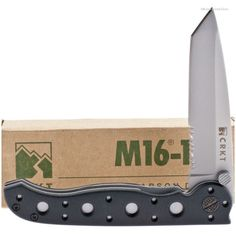 CRKT M16-10Z M16 Compact EDC (Every Day Carry) Knife Tanto | MooseCreekGear.com | Outdoor Gear — Worldwide Delivery! | Pocket Knives - Fixed Blade Knives - Folding Knives - Survival Gear - Tactical Gear