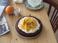 Mango limoen cake
