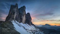 Sunset. Dolomites. (Maxim K. / Moscow / Россия) #Hasselblad H4D-60 #landscape #photo #nature