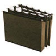 "Desk Supplies>Desk Set / Conference Room Set>Holders> Files & Letter holders: Ready-Tab Hanging File Folders, 2"" Capacity, 1/5 Tab, Letter, Green, 20/Box"