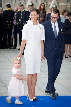 Princess Estelle, Crown Princess Victoria, & Prince Daniel