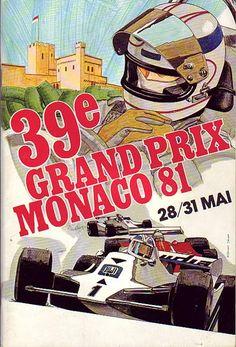 #Monaco #GrandPrix #FrenchRiviera 1981 #www.frenchriviera.com