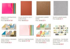 Stampin' Up! Weekly Deals:   March 25 through March 31st