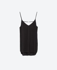 TOP WITH STRAPS-Gothic-Trends-WOMAN | ZARA United States
