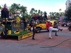 Mulch, Sweat, and Shears- Our favorite WDW band! (though who couldn't love Off Kilter)