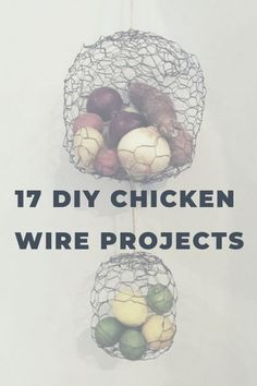 Style And Design Your Individual Enterprise Playing Cards In The Home Chicken Wire Is So Versatile And Popping Up All Over The Place. You Can Create Lovely Diy Home Decor With This Great Material. Update Your Home With A Few Simple Projects Do It Yourself Home, Project Yourself, Diy Videos, Easy Projects, Craft Projects, Craft Ideas, Chicken Wire Crafts, Cool Chandeliers, Making Paper Mache