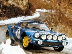 1979 MONTE CARLO RALLY - Lancia Stratos HF. Drivers: Bernard Darniche / Alain Mahe. Place: 1st o.a.