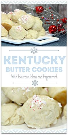 This Kentucky Butter Cookie recipe is easy and such a great grown-up treat for your Christmas party! I love having desserts on hand for my family and guests, and this is one everyone will love! Have friends each bring an appetizer and you can serve dessert, for a ready-made holiday party! Who says you need to slave in the kitchen making food?