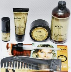 My sister uses this and loves it. She washed Danis hair with it and it made it so easy to comb her hair.    WEN BY CHAZ DEAN SWEET ALMOND CONDITIONER,STYLING CREME, RE-MOIST MASK INTENSIVE HAIR TREATMENT,TEXTURE BALM,WIDE TOOTH SH... $46.95