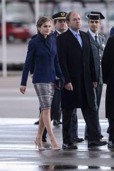 ru_royalty: Государственный визит королевской четы Испании во Францию, день 1
