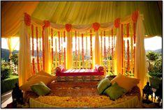 mehendi ceremony decor