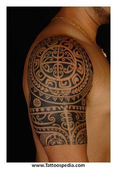 Aztec Shoulder Tattoos