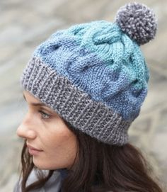 Behold a cable knit hat pattern that doesn't require the use of circular or double pointed needles! Get this winter-friendly pattern here.