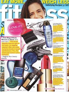 #MegaEffects Mascara is an editor's favorite in the July/August 2013 issue of Fitness Magazine