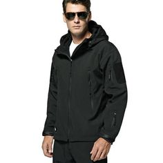 Trench X Printed Military Winter Jacket For Men Tactical Camouflage Loose Hooded Male Coat Zipper Long Sleeve Windbreaker Women Trench Soft And Antislippery