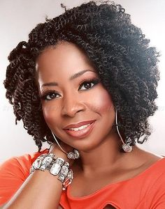 medium natural hairstyles - medium length afro braid hairstyle