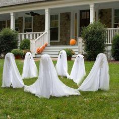 außenbereich deko halloween ideen selber machen diy   halloween, Garten und erstellen