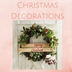 Christmas Decorations Board Cover